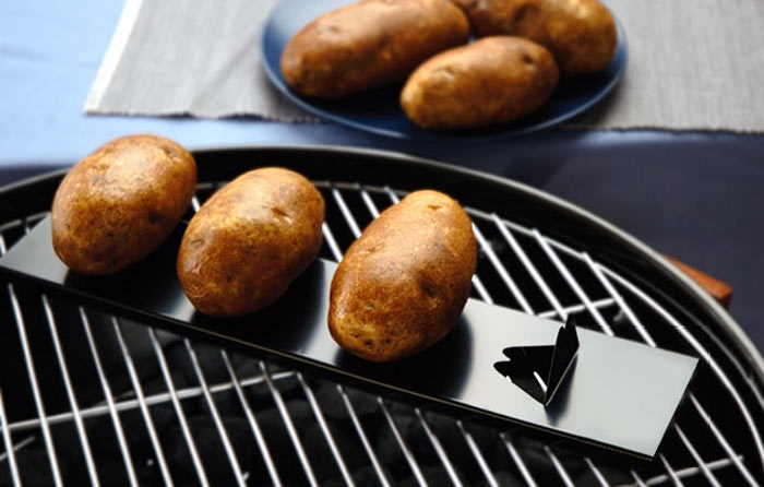 The best way to Make Baked Potato with a BBQ Grill